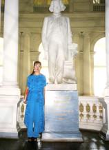 音楽家の銅像