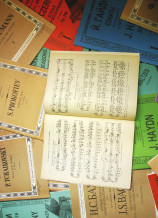 ロシアの楽譜